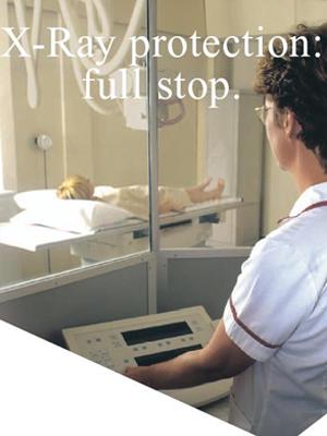 стекло рентгенозащитное